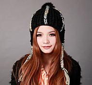 Deniso-1099 femmes d'hiver Bonnet cache-oreille