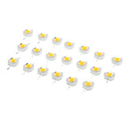 Bridgelux 3W 3.2-3.6V 700ma Warm White Light Emitter (20-Pack)
