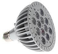 E26/E27 Focos LED PAR38 12 LED de Alta Potencia 1200 lm Morado AC 85-265 V