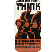Worker Design Hard Case for iPhone 4/4S