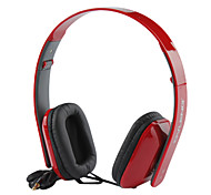 Bass Over-Ear Headphones with Remote and Mic,Black,Red,White