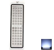 4W 56-LED Light Natural White 2 Modos de Iluminación de LED recargable Lámpara de Seguridad (110-220V)