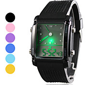 Men's Watch Sports LED Analog-Digital Display Multi-Function Cool Watch Unique Watch