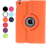 Custodia in pelle PU ruotabile di 360° per iPad Mini - Colori assortiti
