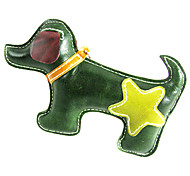All Cow Leather Double Color Puppy Dog Style Squeaking Toys