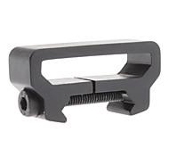 Small Black Aluminum Alloy Durable Braces Buckle
