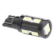 T10 3W 10x5730SMD White Light LED Bulb for Car Signal Lamp (12V)