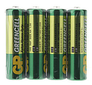 GP Greencell 1.5V Pila AA (4-Pack)
