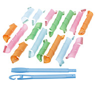 Colorful Magic Perm Hair Curler Set (16-Pack)
