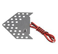 1.5W Yellow Light Arrow Shaped LED Bulb for Car Turning Signal/Reversing Lamp (12V)