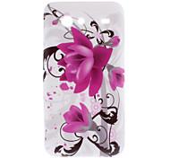 Flower Pattern Soft Case for Samsung Galaxy S Advance I9070