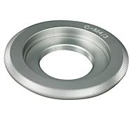 Silver C Mount Lens to Micro 4/3 Adapter E-P1 E-P2 E-P3 G1 GF1 GH1 G2 GF2 GH2 G3 GF3