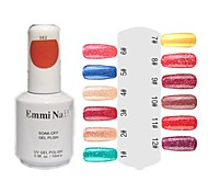 UV Color Gel Hot Sale Nail Art Nail Polish (15ml, 1 Flasche)