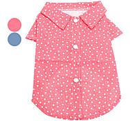Dog Shirt / T-Shirt / Shirt Red / White / Blue Dog Clothes Spring/Fall Stars