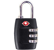 3-digit Travel Combination Lock (Assorted Color)
