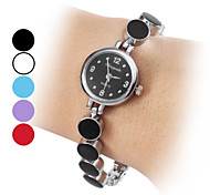 Quartz Alloy Dames Analoge Bracelet Watch (verschillende kleuren)