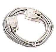 Fêmea para fêmea DB cabo de porta serial 9 pinos Conexão (5 m)
