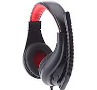 LPS-1520 Super Bass conception confortable Noir Wired Musique casque stéréo avec micro