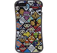 Cartoon Design TPU Soft Case for iPhone 5/5S