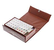 2x1.5cm Portable Mahjong para Viajes Entretenimiento