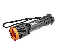 Lights LED Flashlights/Torch / Handheld Flashlights/Torch LED 800 Lumens 5 Mode Cree XM-L T6 18650Adjustable Focus / Waterproof /