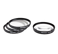 4pcs 55mm Close-Up Kit de filtro para la cámara con bolsa de filtro (+1, +2, +4, +10)