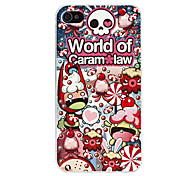 Cartoon Design Hard Case for iPhone 4 and 4S