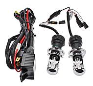 Xenon H4-3 High / Low Beam bombillas HID de conversión de luces delanteras del coche (12V-55W, 2-Piece)