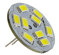 G4 4W 9 SMD 5730 430 LM Natural White LED Spotlight DC 12 V