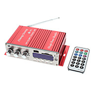 2 Channel 80W Hi-Fi Stereo Amplifier MP3 Player for Car Motorcycle (FM/SD/USB)