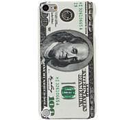 U.S. Dollar Pattern Hard Case for iPod Touch 5
