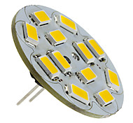 6W G4 LED Spotlight 12 SMD 5730 570 lm Warm White DC 12 V