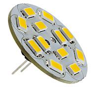 Faretti LED 12 SMD 5730 G4 6W 570 LM Bianco caldo DC 12 V