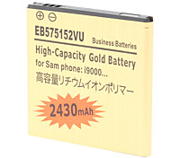 2430mAh High-Capacity Gold Batterie i9000-GD EB575152VU für Samsung i9000