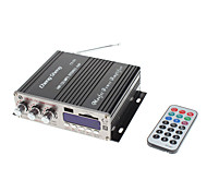 "1.8"" LED 80W Hi-Fi Stereo Amplifier MP3 Player for Car Motorcycle (FM/SD/USB,2 Channel)"
