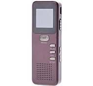 Metal Shell Gravador de Voz em Alta Definição com função MP3