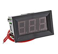 """V27A 0.56"""" LED Two Line 3-Digital Alternating Current Voltmeter (Black, AC 75~300V)"""