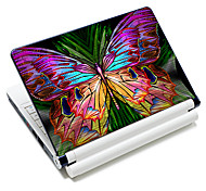 """Colorful Butterfly"" Pattern  Laptop Notebook Cover Protective Skin Sticker For 10""/15"" Laptop 18342"