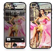 "Da Code ™ Skin for iPhone 5/5S: ""LightInTheBox Models"" (Romantic Series)"