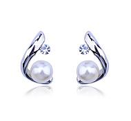 Modello C Orecchini di perle (colori assortiti)