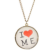 """I LOVE ME"" Leisure Delicate Necklace"