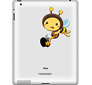 Bee Pattern Protective Sticker for iPad 1, iPad 2 ,iPad 3 and The New iPad