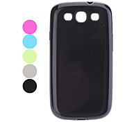 Durable/Light Samsung Mobile Phone Back Covers for Galaxy S3/9300(5 Colors)