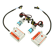 12V 35W H7 HID Xenon Lamp Conversion Kit Set (E3035 Ballast)