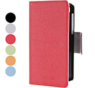 Magnet Design PU Leather Full Body Case with Stand and Card Slot for Blackberry Z10 (Assorted Colors)