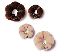 Hot Buns Disk Hair Curlers (Random Color)