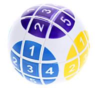 6cm Numeric Magic Ball Puzzle (White)
