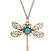Hollow-out Dragonfly Necklace