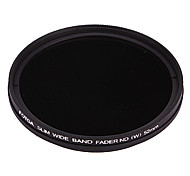 FOTGA Ultra Thin Fader Variable Neutral Density ND2~ND400 Filter (52mm)