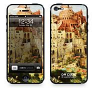"""Codice Da ™ Pelle per iPhone 4/4S: """"La Torre di Babele"""" di Pieter Bruegel il Vecchio (I capolavori della serie)"""